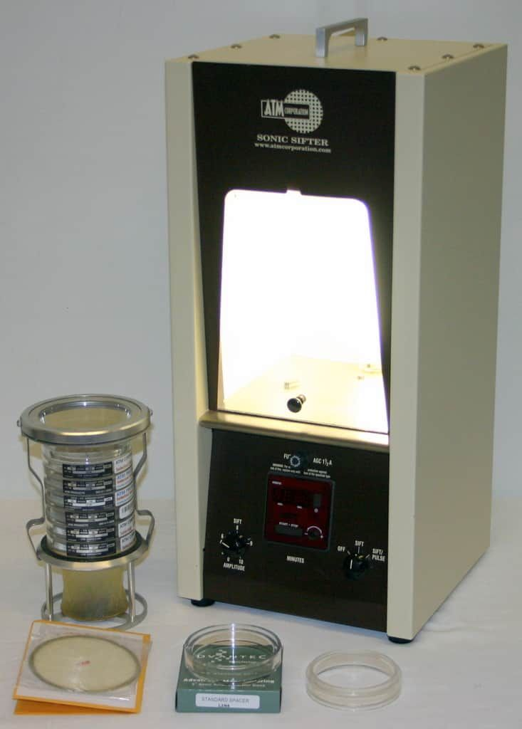 ATM CORPORATION ADVANTECH SONIC SIFTER SIEVE SEPARATOR, MODEL L3P SERIES F