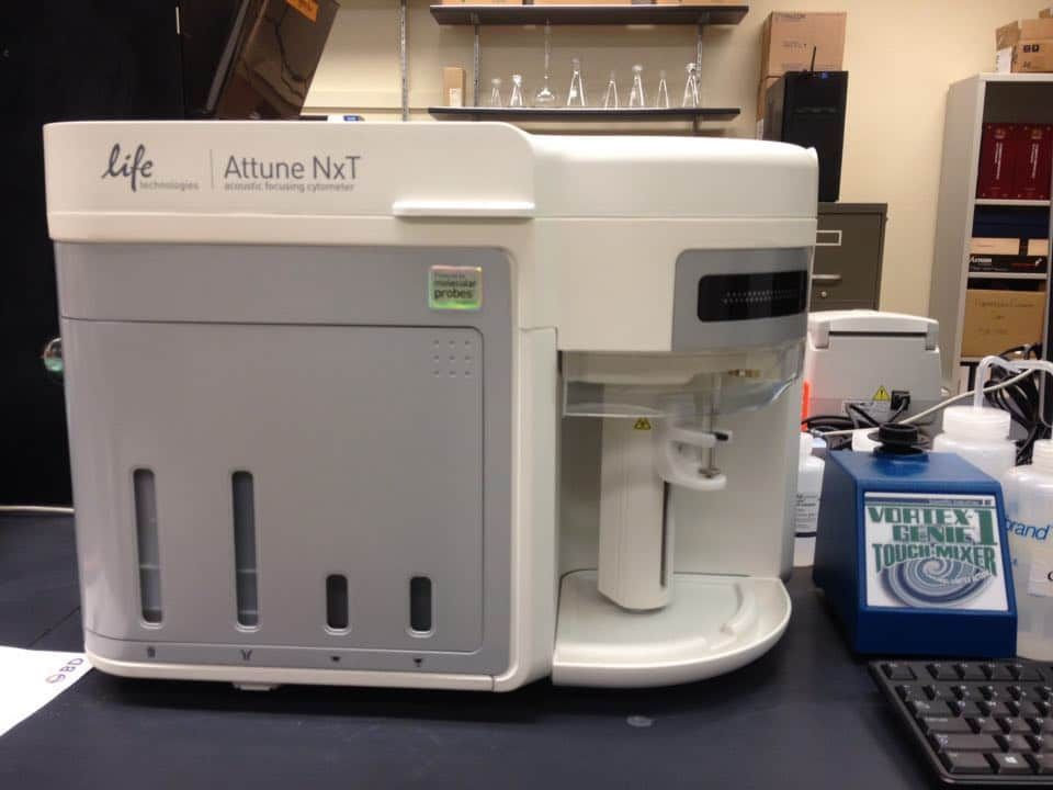 Life Technologies Attune NxT acoustic focusing cytometer
