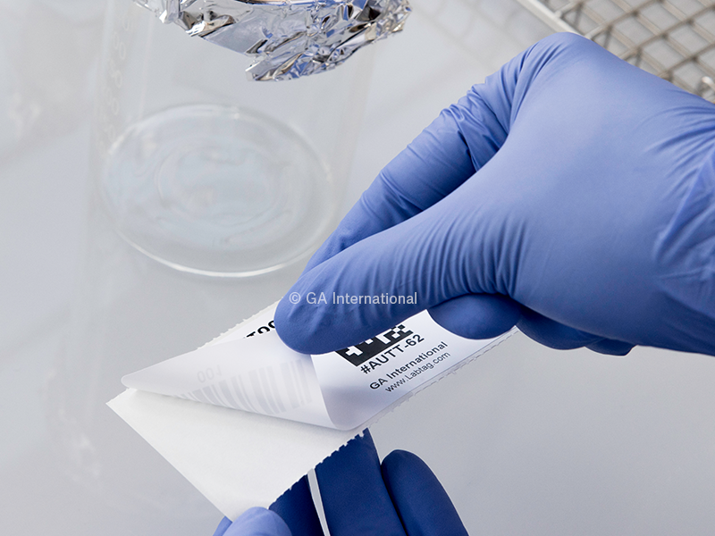 Permanent Steri-ThermoTAG™ Thermal-Transfer Labels