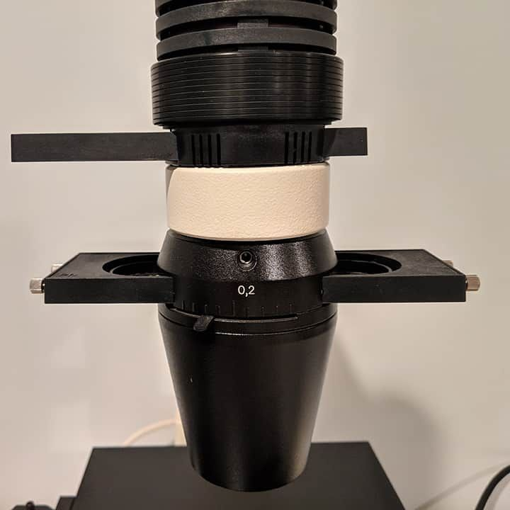 Zeiss Axiovert 40 CFL Trinocular Inverted Fluorescent Phase Contrast Microscope
