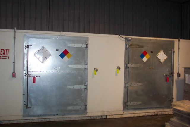 Haz-Safe Hazardous Materials Building (Walk-In, HazMat,)