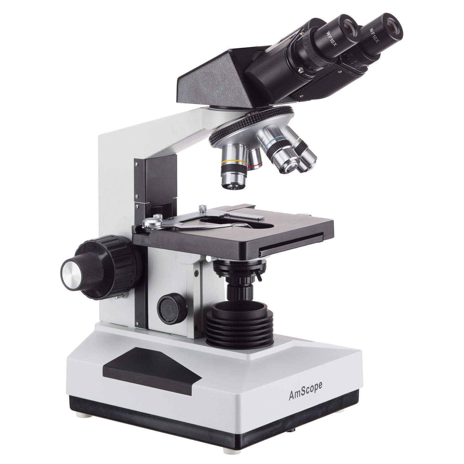AmScope 40X-2000X Binocular Biological Microscope