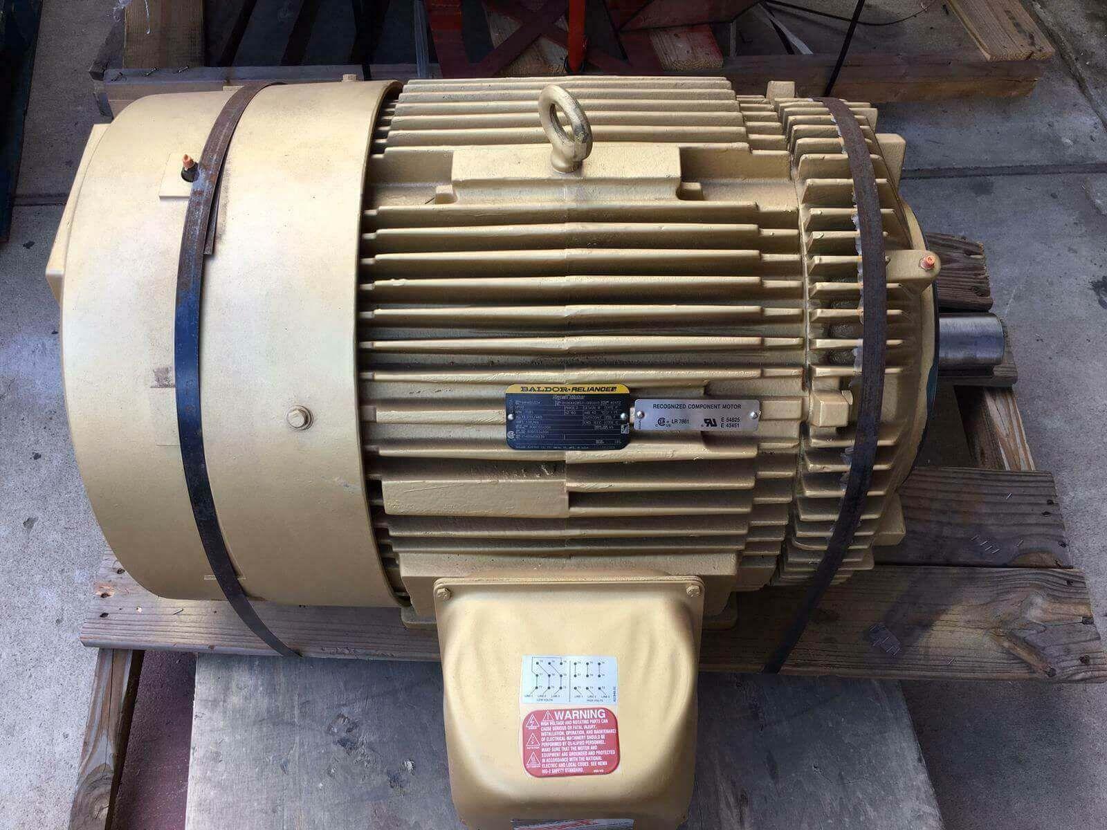 MP40G334 60 HP, 1185 RPM NEW BALDOR ELECTRIC MOTOR