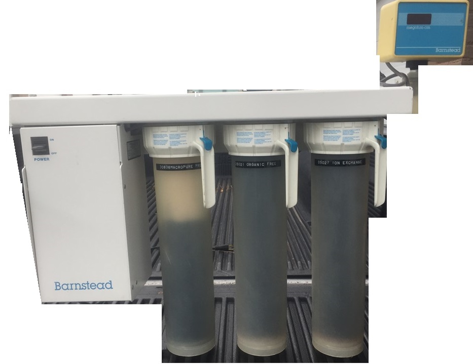 Barnstead Water Filtration System