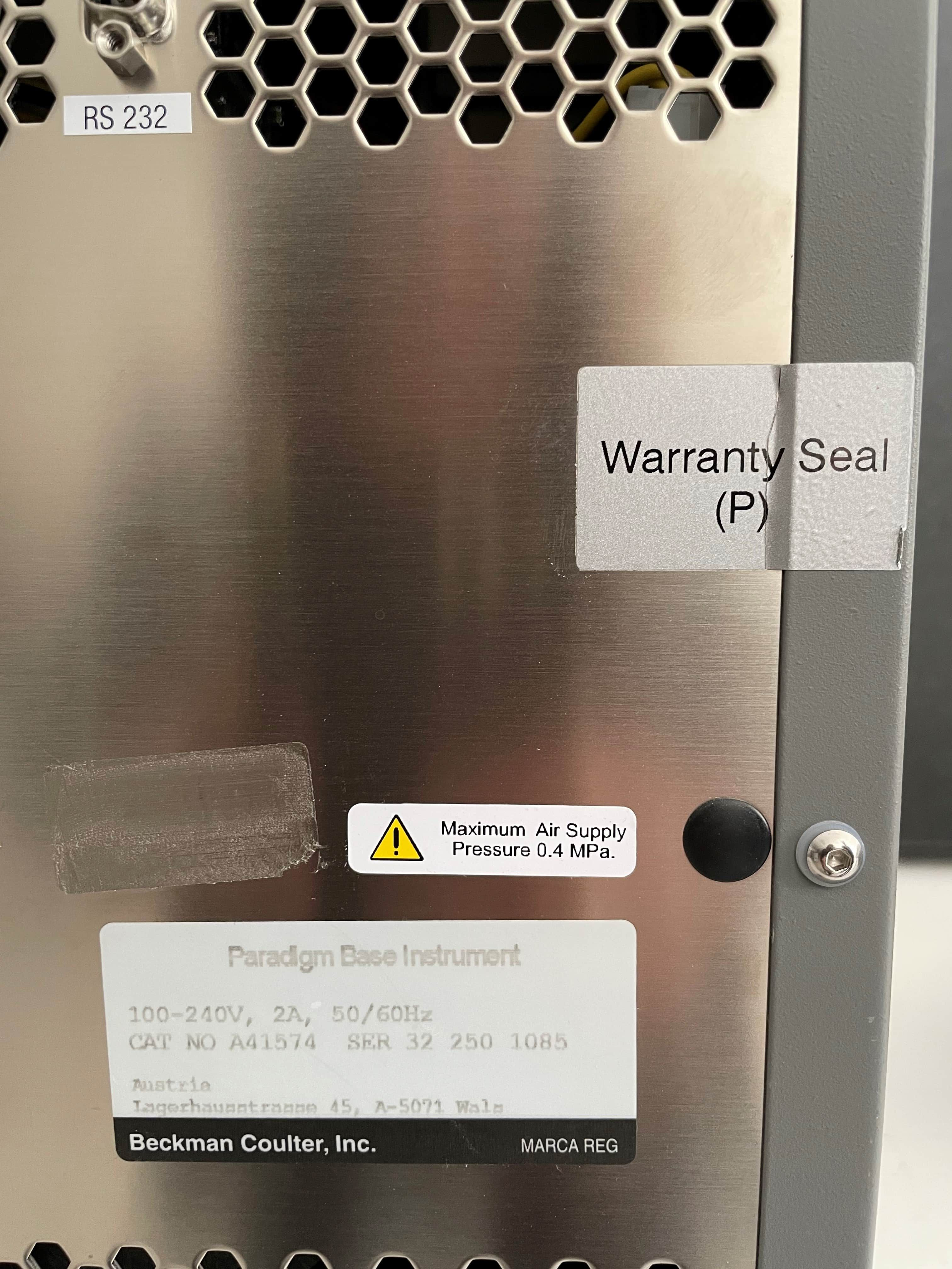 Beckman Coulter Paradigm Microplate Reader with Warranty