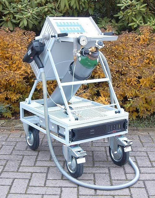 MOBILE OES FOR METAL ANALYSIS MADE BY BELEC GERMANY