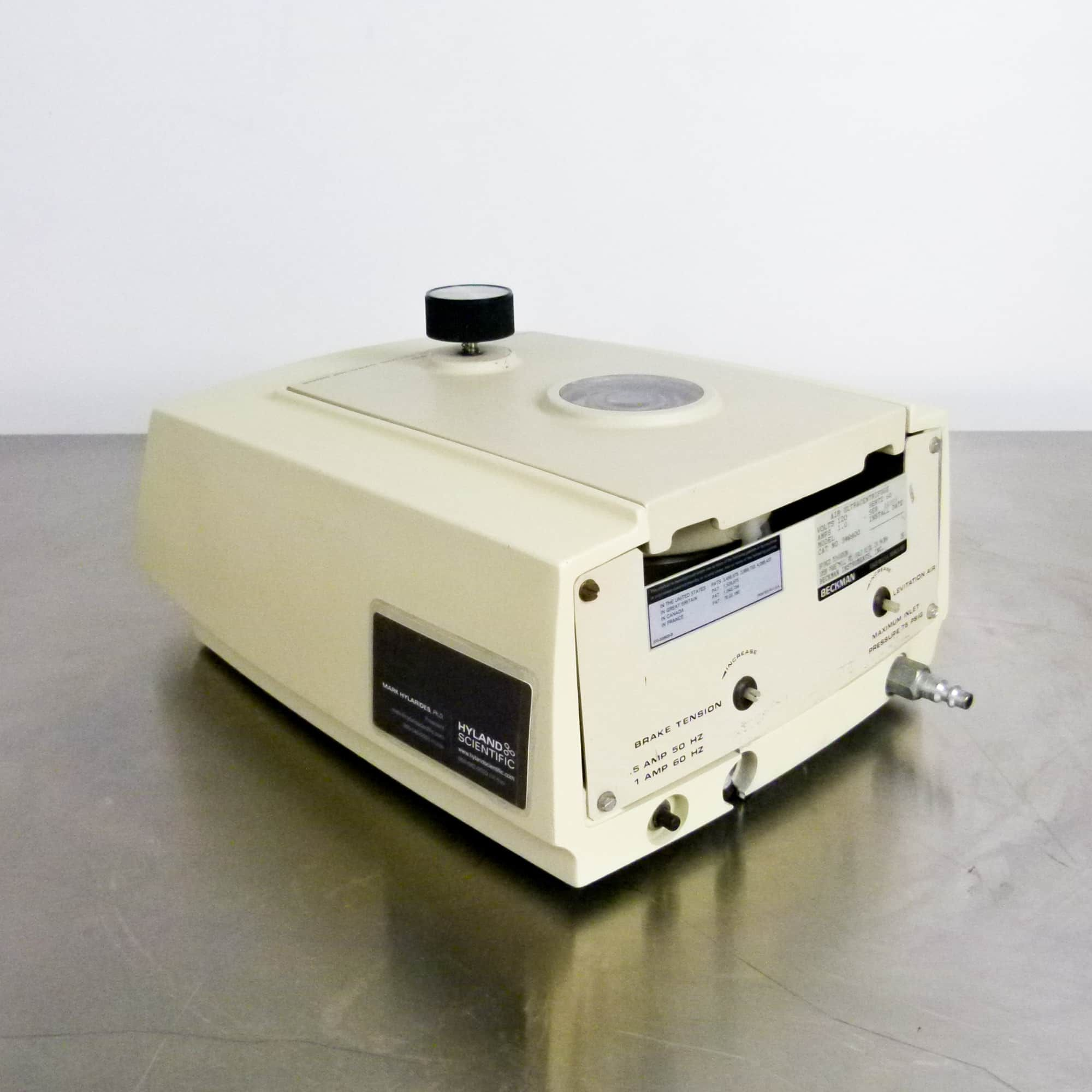 Beckman Airfuge Compact Ultracentrifuge with Rotor