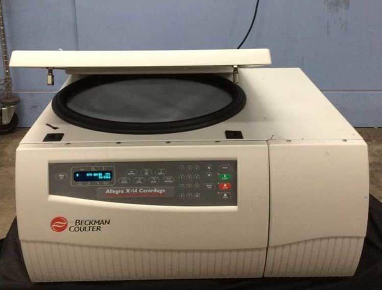 Beckman Allegra X-14 centrifuge with SX-4750 rotor