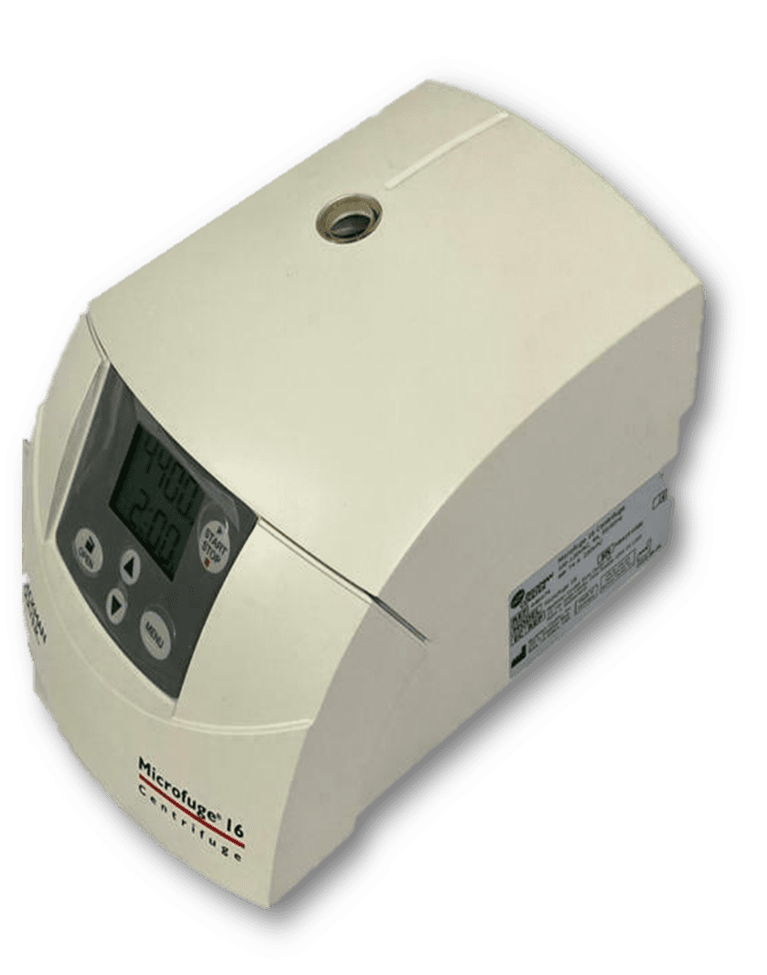 Beckman Coulter Microcentrifuge Microfuge 16 with rotor