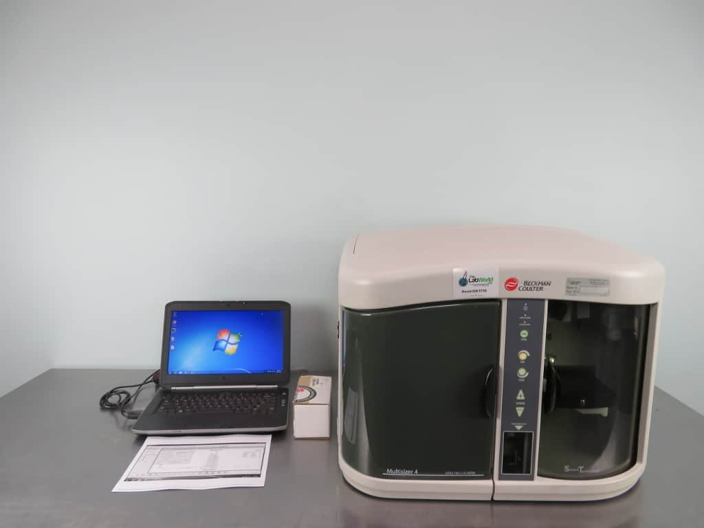 Beckman Coulter Multisizer 4 Particle Counter with Warranty