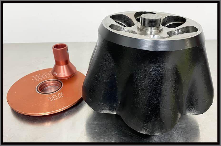 Beckman 45Ti Fixed Angle Rotor w WARRANTY