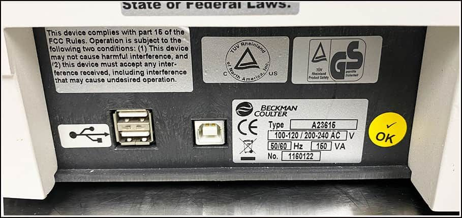 Beckman DU730 UV-Vis Spectrophotometer w WARRANTY