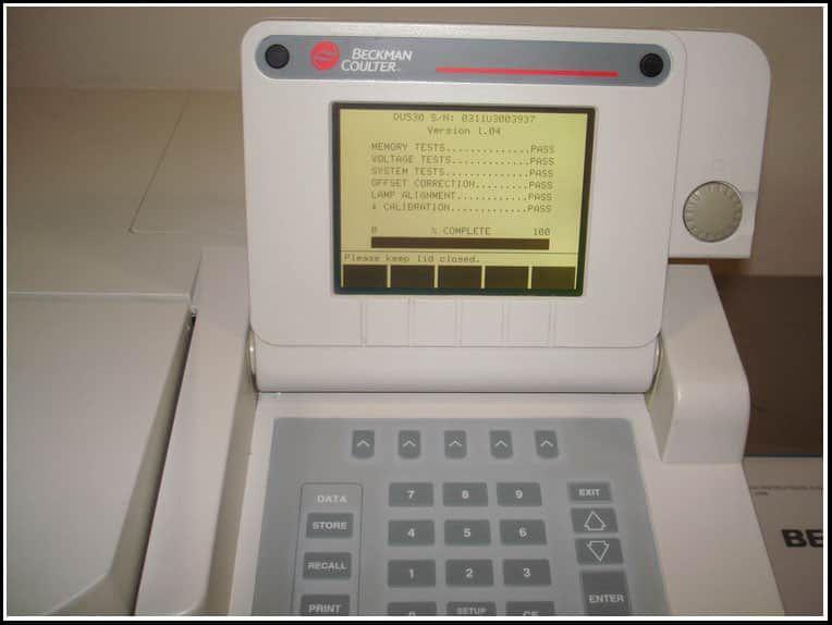 Beckman DU530 UV/Vis Spectrophotometer w WARRANTY