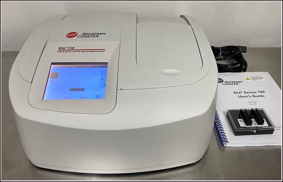 Beckman Coulter DU 730 UV Vis Spectrophotometer w WARRANTY