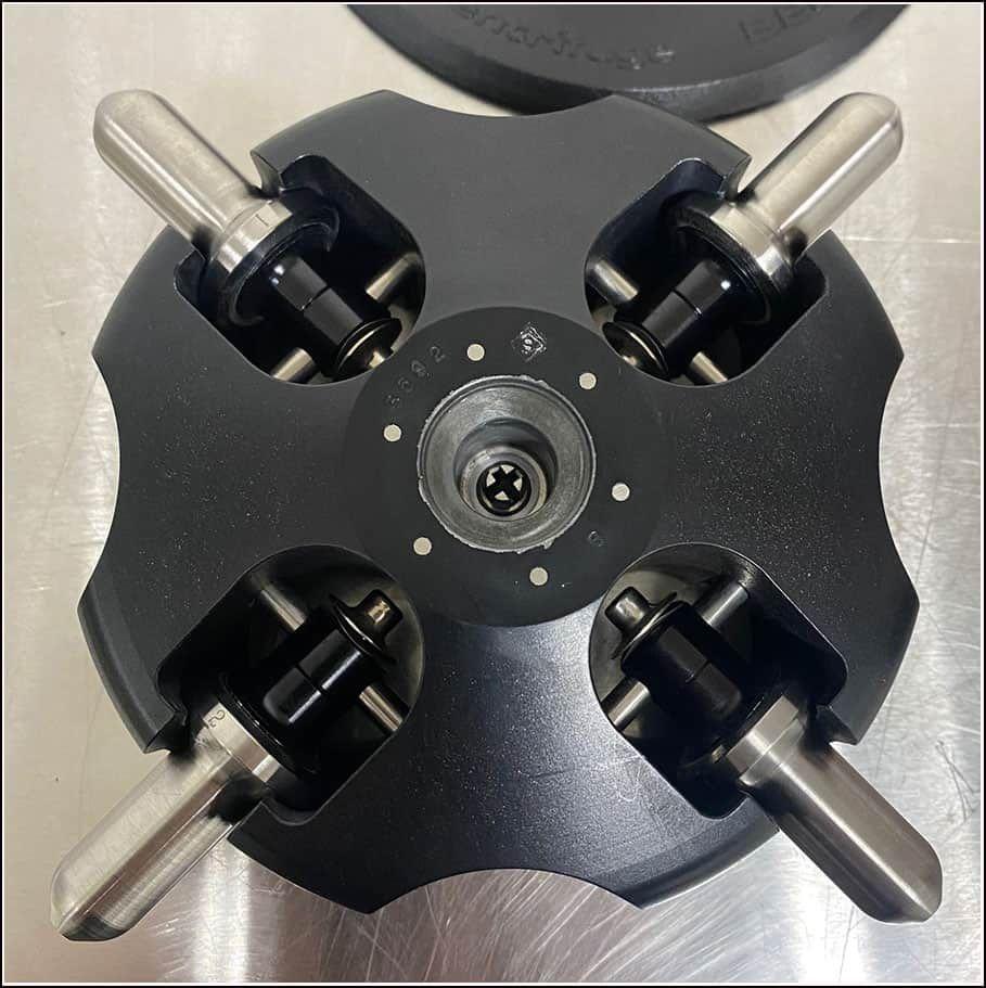 Beckman TLS-55 Swinging Bucket Rotor COMPLETE w WARRANTY