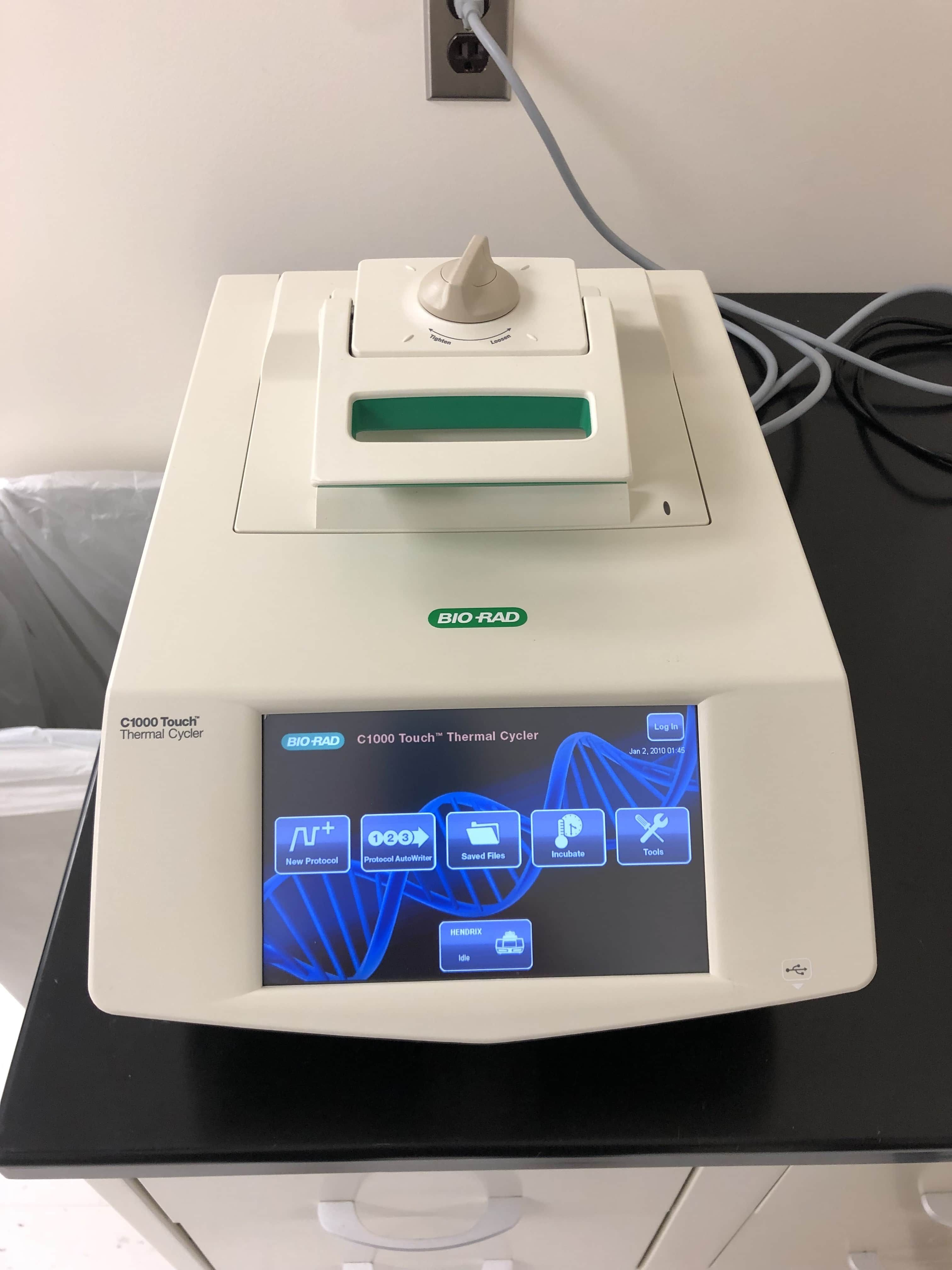 BIO-RAD C1000 TOUCH 96 Well PCR Thermal cycler-Year 2015-Like New!