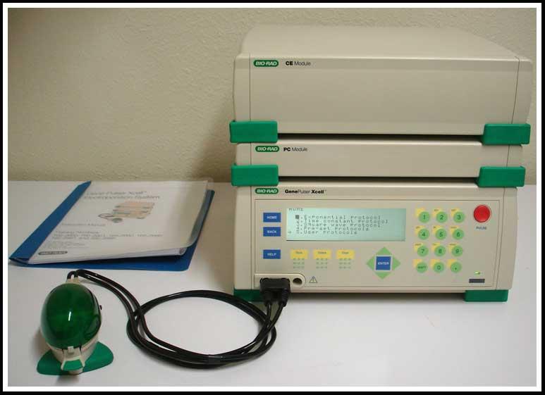 Bio-Rad XCell Gene Pulser Electroporation System COMPLETE W WARRANTY