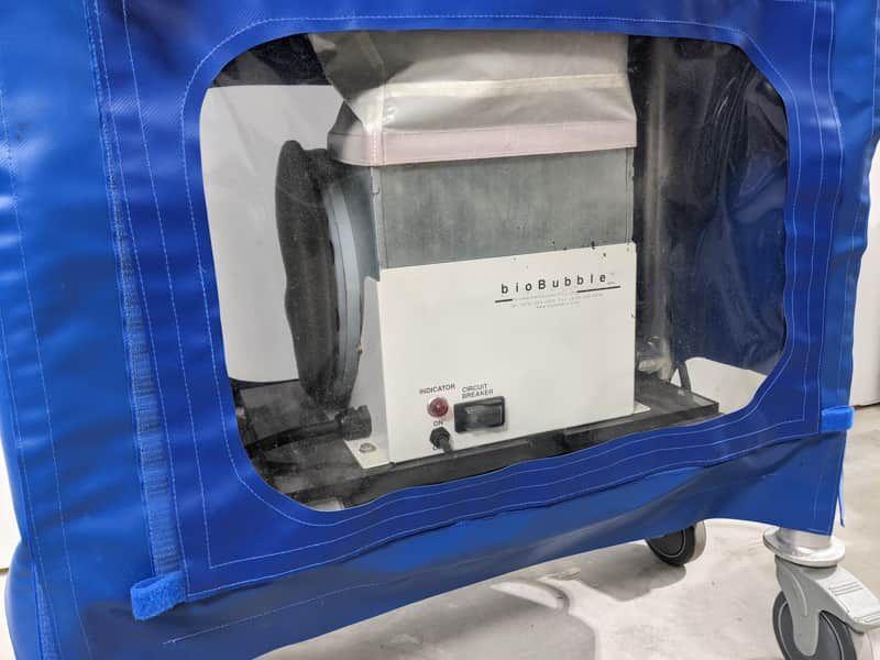 BioBubble Portable Clean Room System