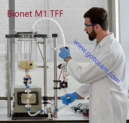 Tangential Flow Filtration, TFF, by Bionet (Spain)