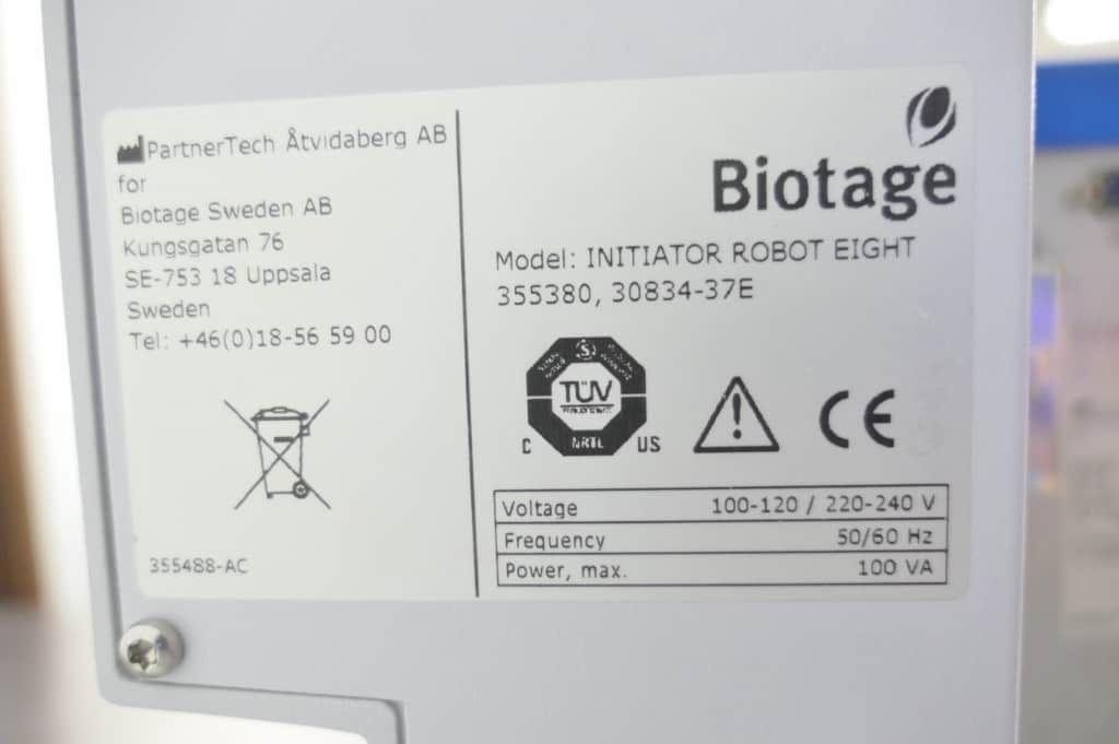 Biotage Initiator Plus Microwave Synthesizer with Warranty