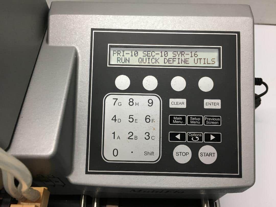 Biotek Multiflo Microplate Dispenser - tested