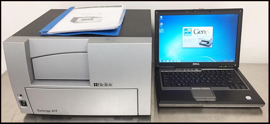 Bio-Tek Synergy HT Multi-Mode Microplate Reader W WARRANTY