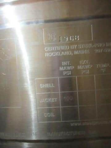 GE Xcellerex XDR-1000 Stainless Steel Bioreactor