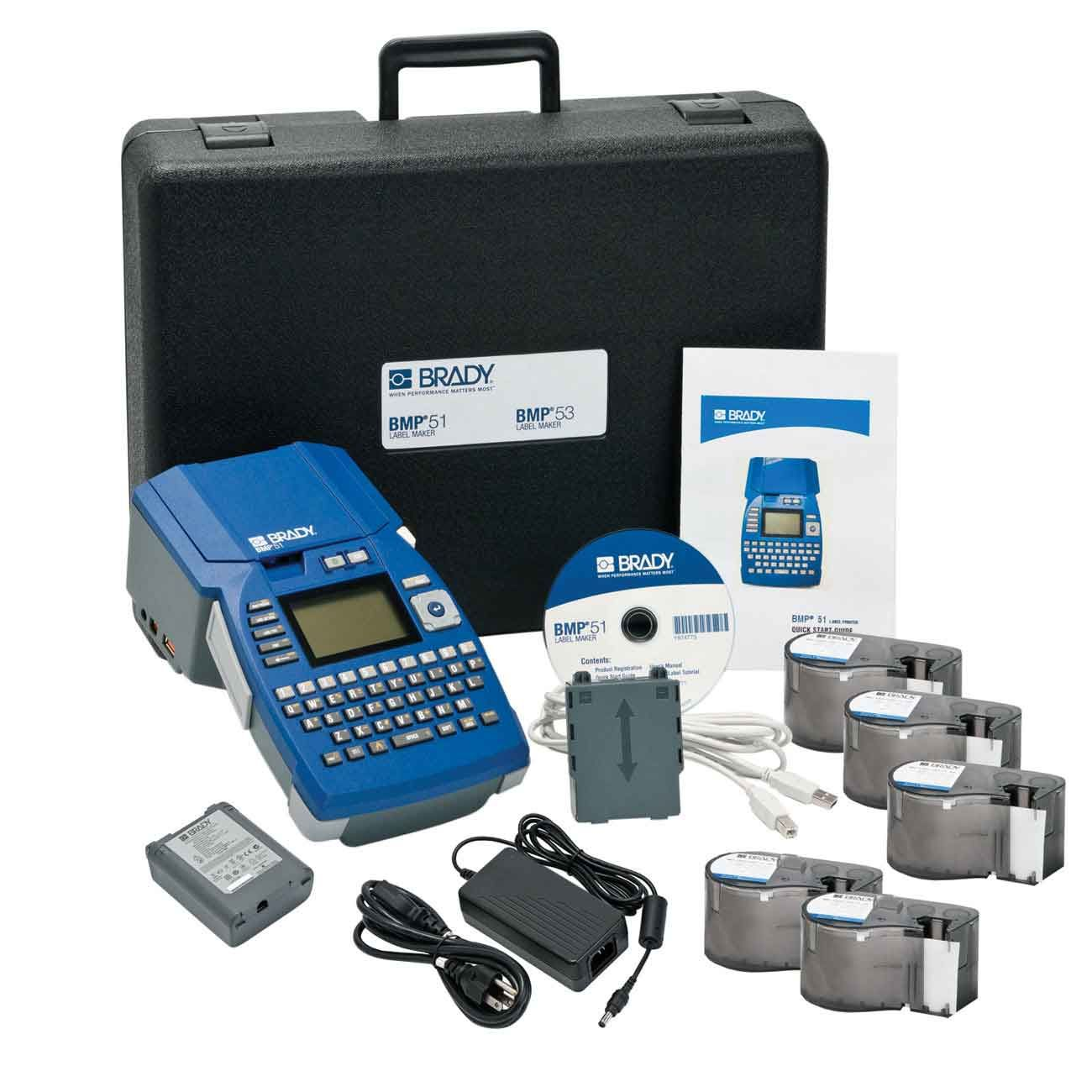 BMP51 Label Printer Lab Identification Starter Kit