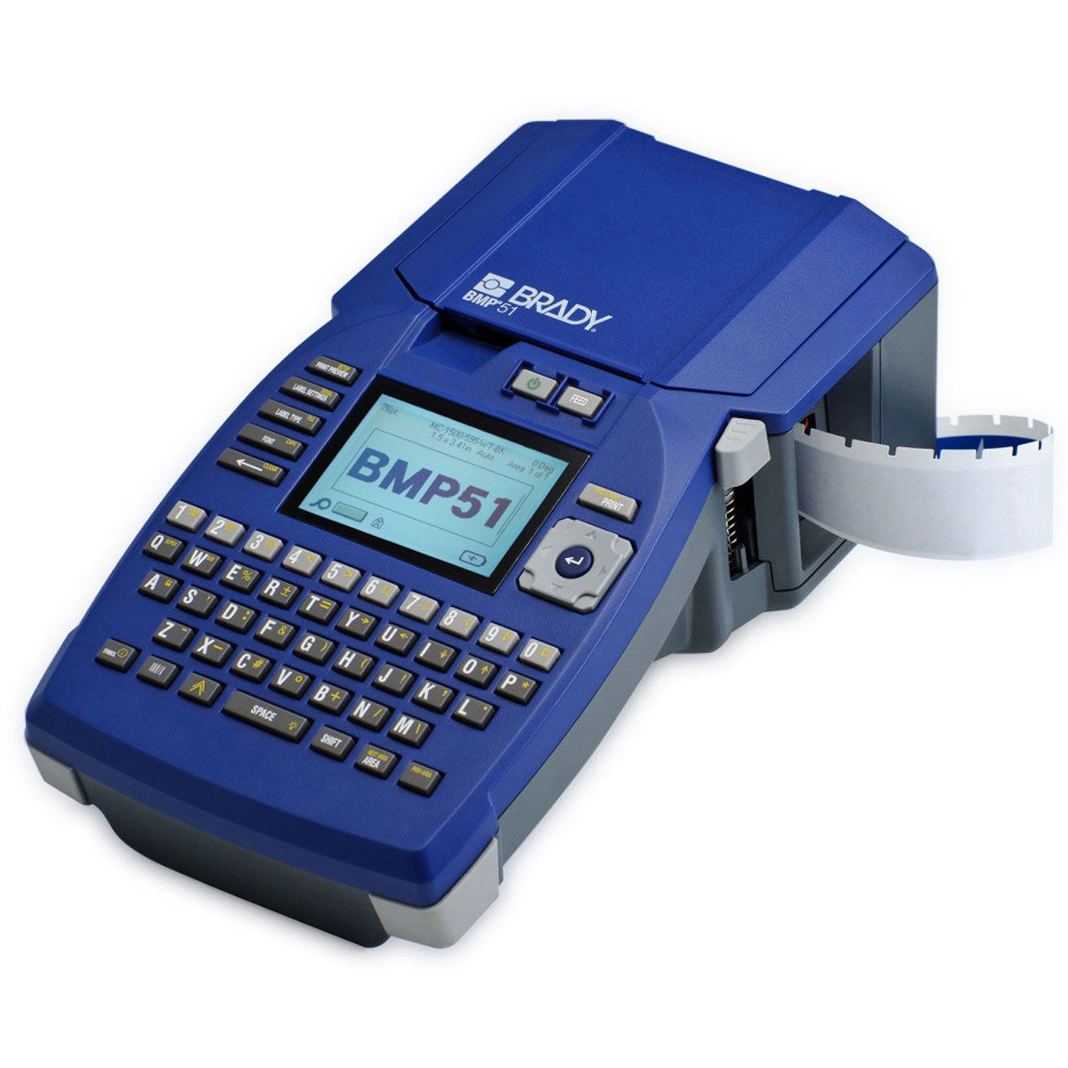 BMP51 Label Printer with Li-Ion Battery
