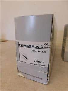 Stryker Formula 375-627-000 2.5mm Disposable Arthroscopy Blades Lot of 8- Exp