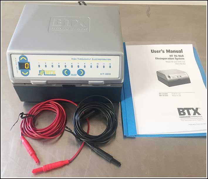 BTX HT-200 Microplate Electroporation Plate Handler w WARRANTY