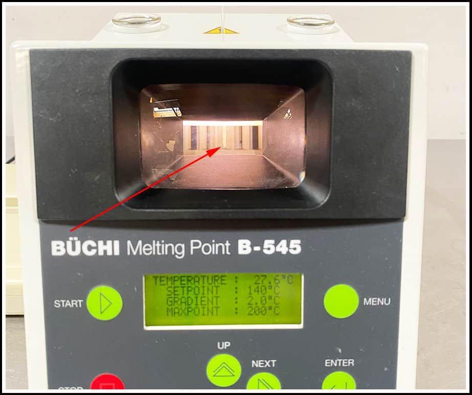 Buchi B-545 B545 Melting Point Apparatus w WARRANTY