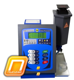 BWB Technologies UK Nuclear Flame Photometer