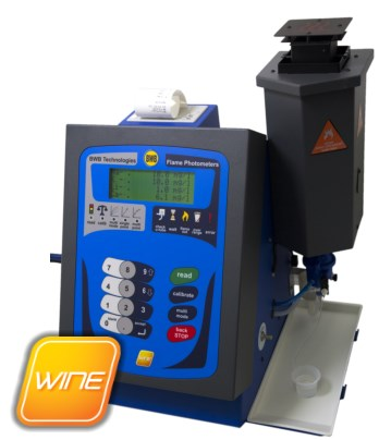 BWB Technologies UK BWB Wine Flame Photometer