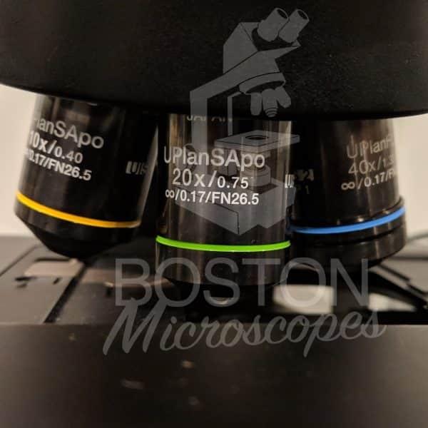 Olympus BX61 Trinocular Fluorescence Motorized Upright Microscope