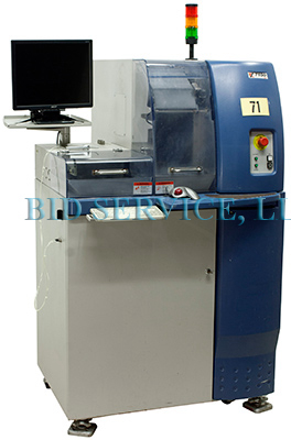 K&S 7100 AD Dicing Saws-Scribers Precision Wafer Dicing Saw. Monitor