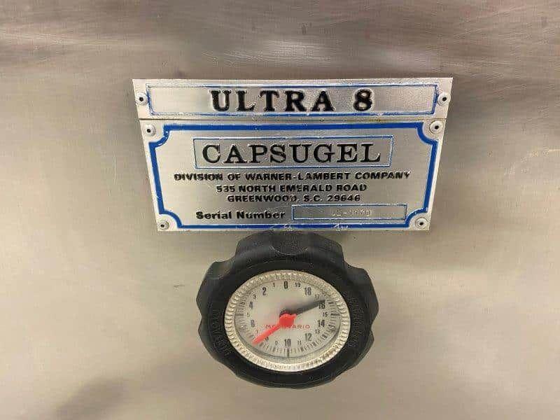 Capsugel Ultra 8 Semi-Automatic Capsule Filler