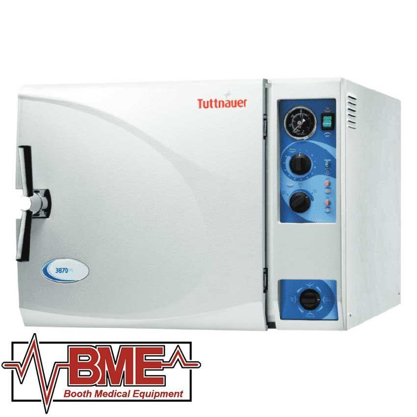 "3870M Tuttnauer Manual Autoclave Sterilizer (15"" Chamber) Brand New"