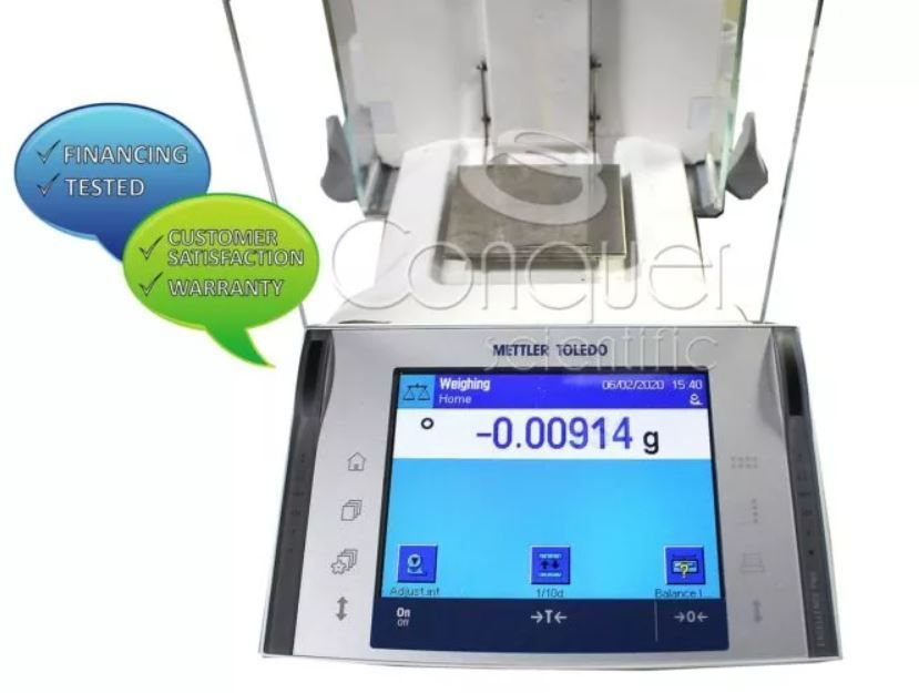 Mettler Toledo XP105TDR Balance with RS-P42 Printer