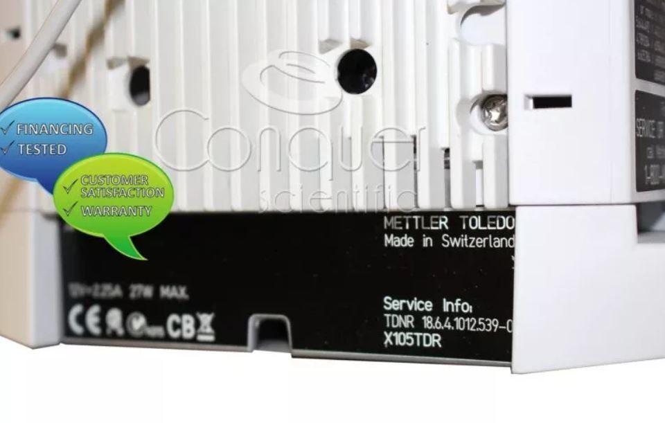 Mettler Toledo XP105TDR Balance with RS-P42 Printer