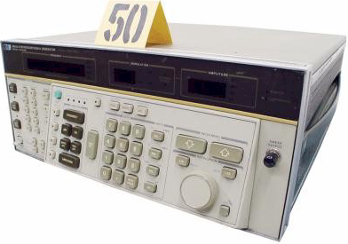 HP 8662A Test and Electronics High Performance RF Signal Generator.