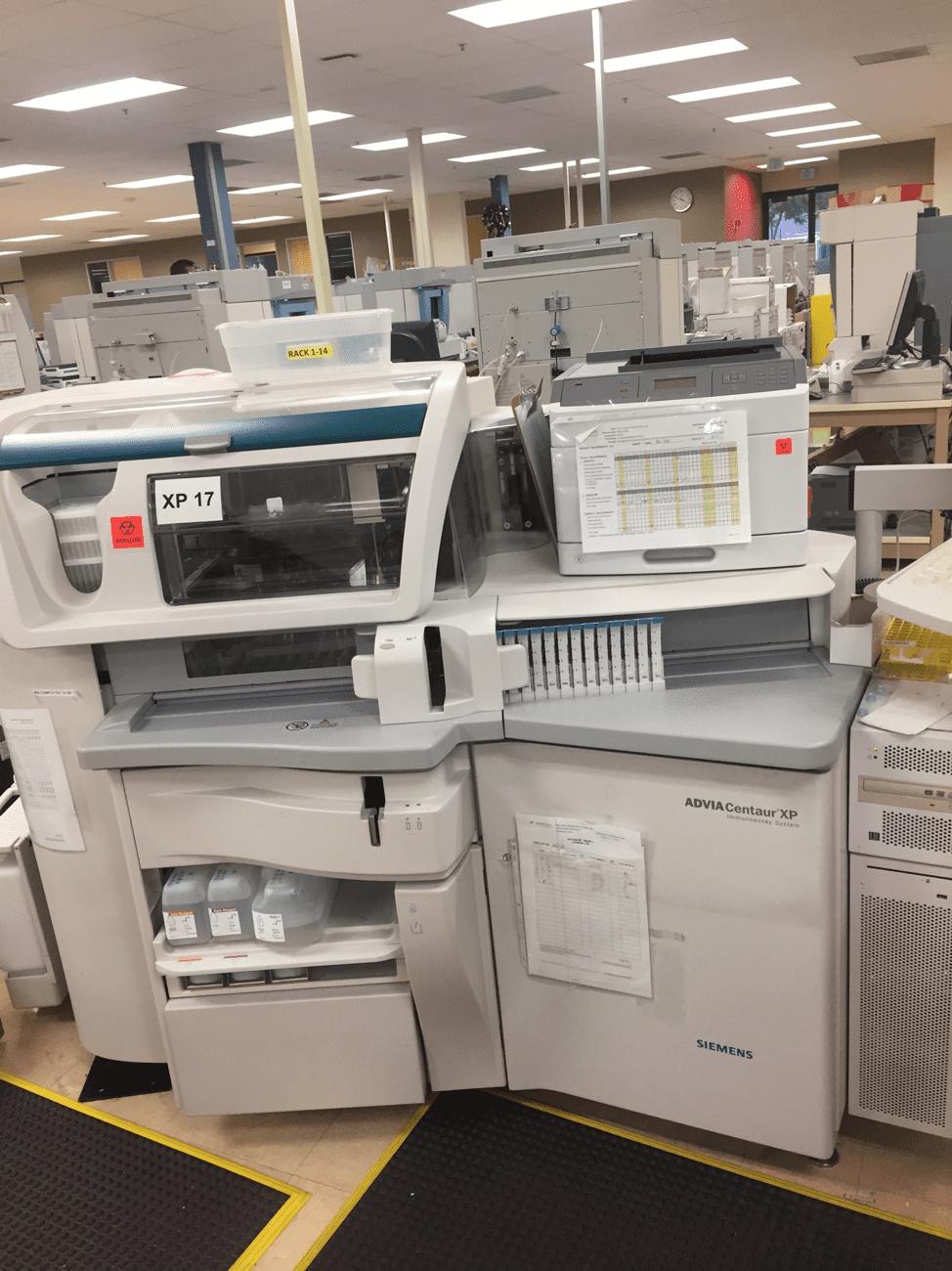 Siemens ADVIA Centaur XP immunoassay