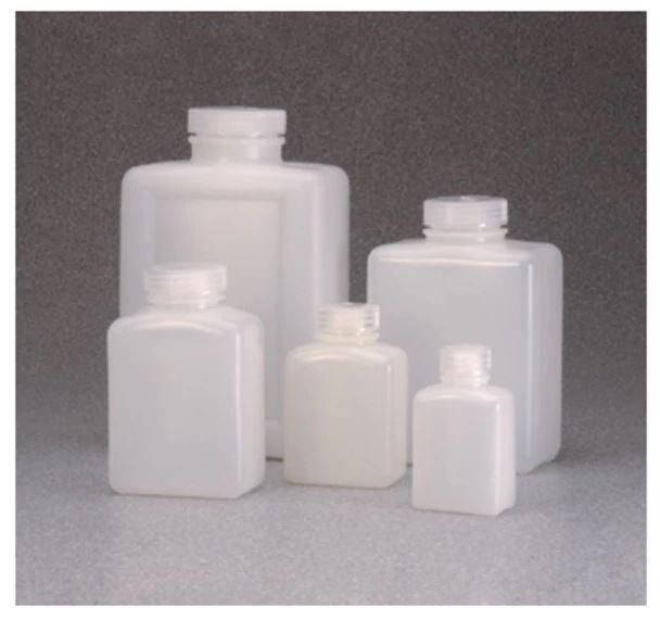 Thermo Scientific Nalgene™ Rectangular HDPE Bottles with Closure