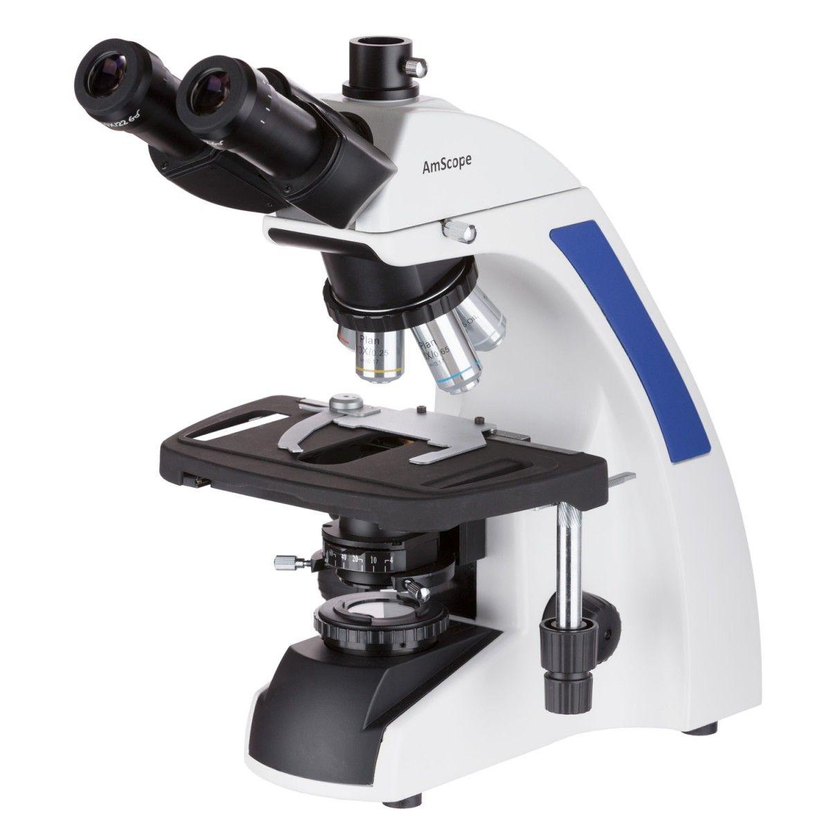 AmScope 40X-2500X Infinity Plan Laboratory Microscope