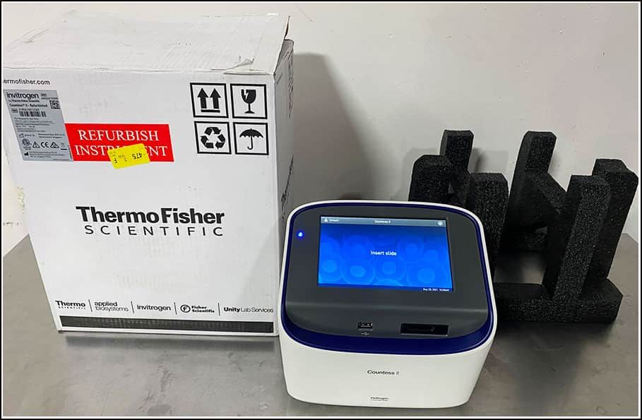 Thermo Countess II  Automated Cell Counter w WARRANTY