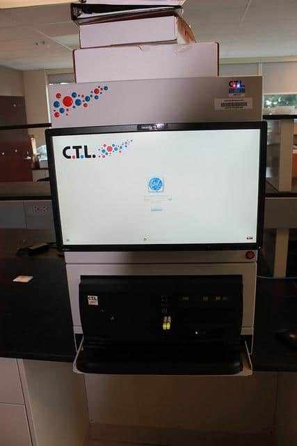 CTL Immunospot S6 Core with computer and software