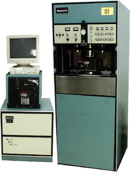 Rheometrics RDS-II Lab Equipment Dynamic Spectrometer. The uses