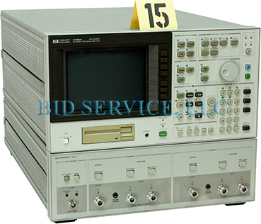 HP 4195A Test and Electronics Network Spectrum Analyzer. High