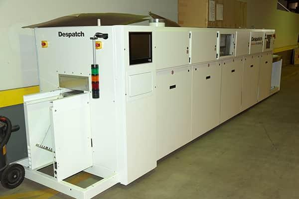 Despatch Furnace for Solar Cells CF SERIES METALLIZATION FIRING FURNACE Model CF-SL 2014