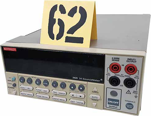 Keithley 2420 Test and Electronics Source Meter. Designed